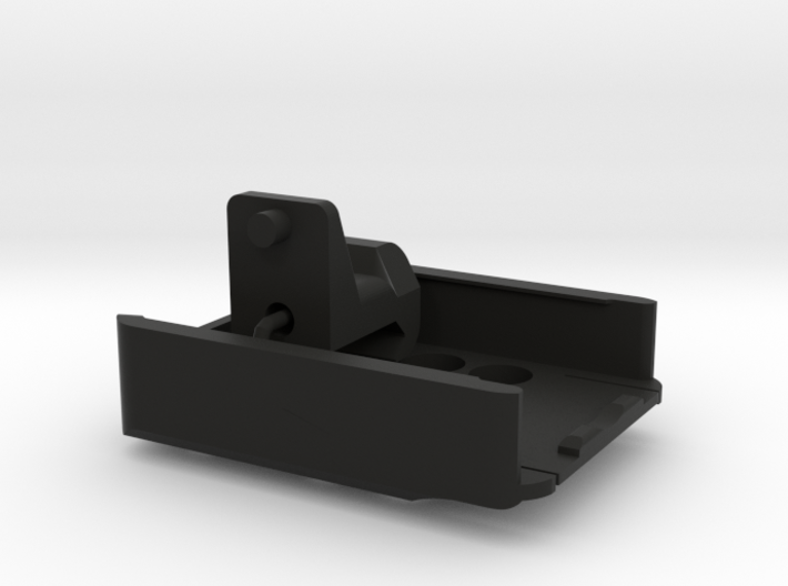 RunCam2 Side Rail Mount (Adjustable, Either Side,  3d printed