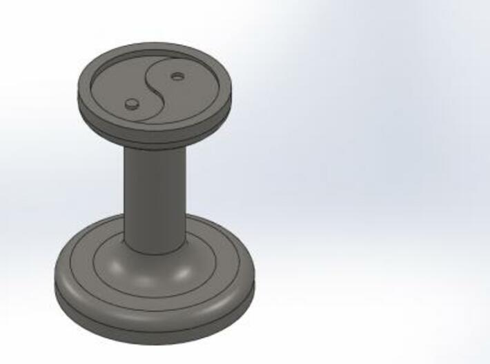 Yinyang Wax Seal 3d printed