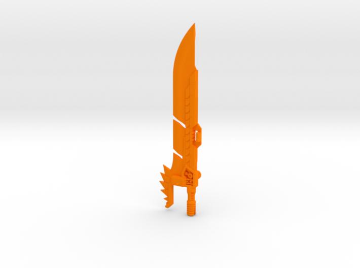 'Lava Lancer' Sword (extended variant) 3d printed