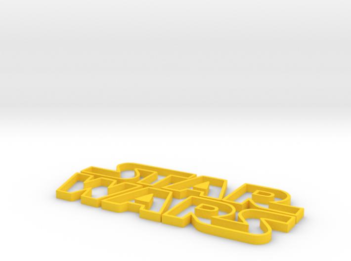 star wars Logo 3d printed