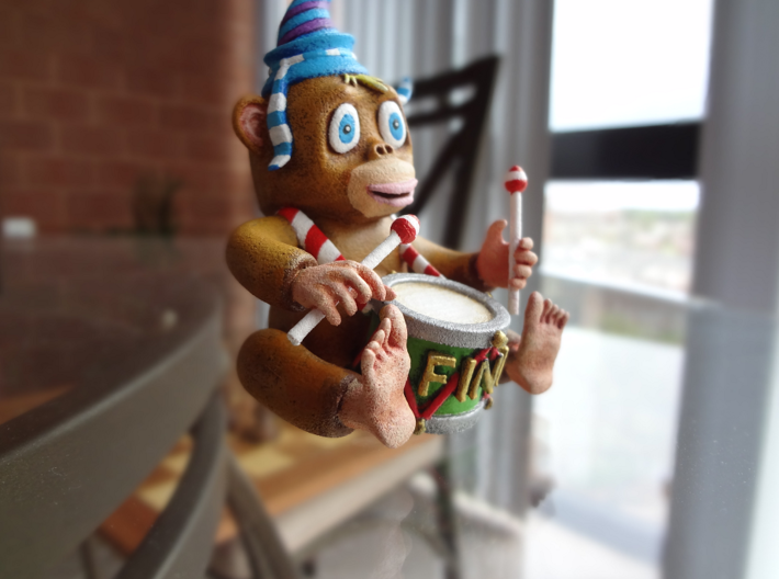Monkey 7 JOINED 3d printed