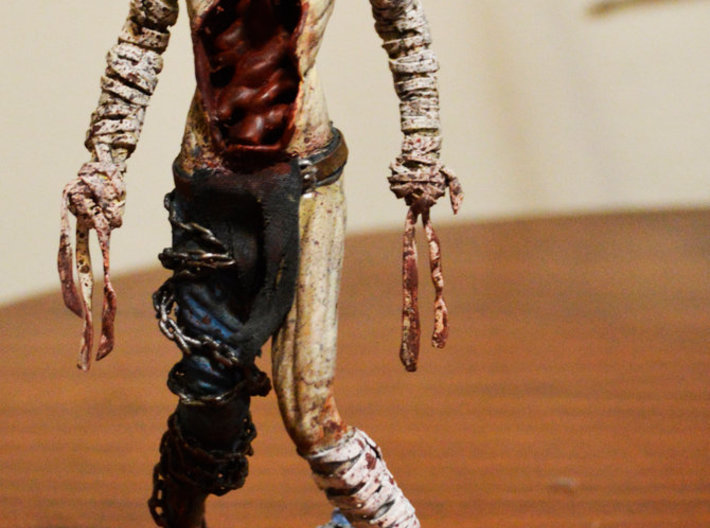 Rupturing Hollow from Dark Souls 2 3d printed