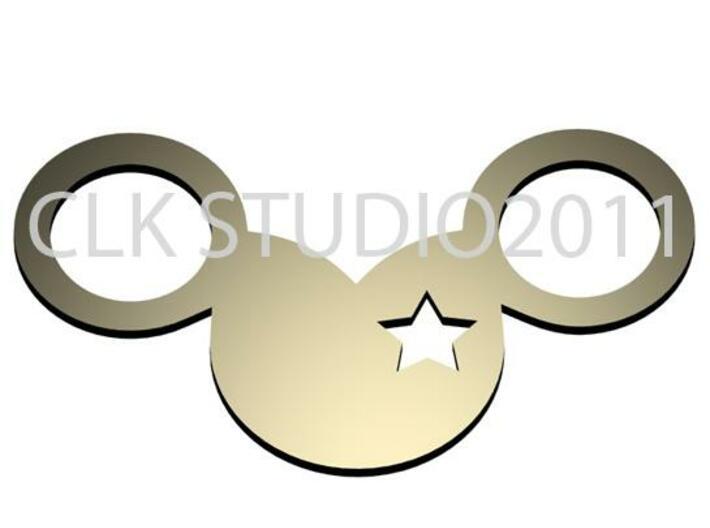 mickey star eye 3d printed