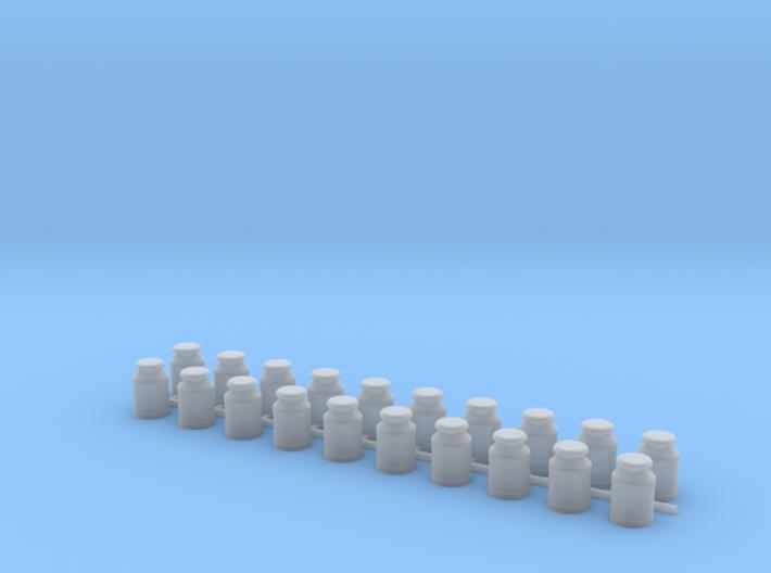 Five Gallon (20 L) Cylindrical Milk Churn 3d printed
