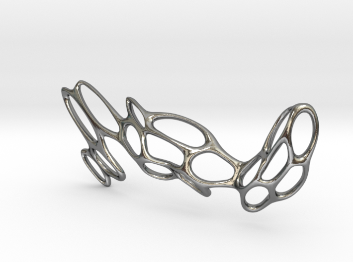 Fantasia Necklace 3d printed