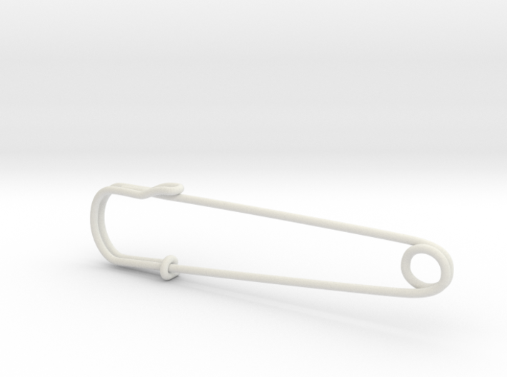 safety pin - Mona 3d printed