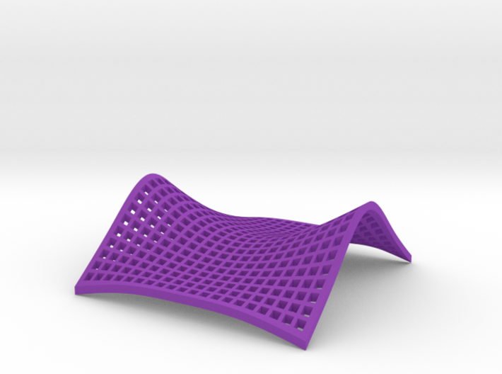 Saddle Point 3d printed