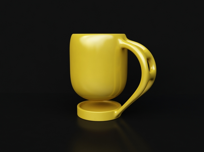 Levitate - coffee cup 3d printed