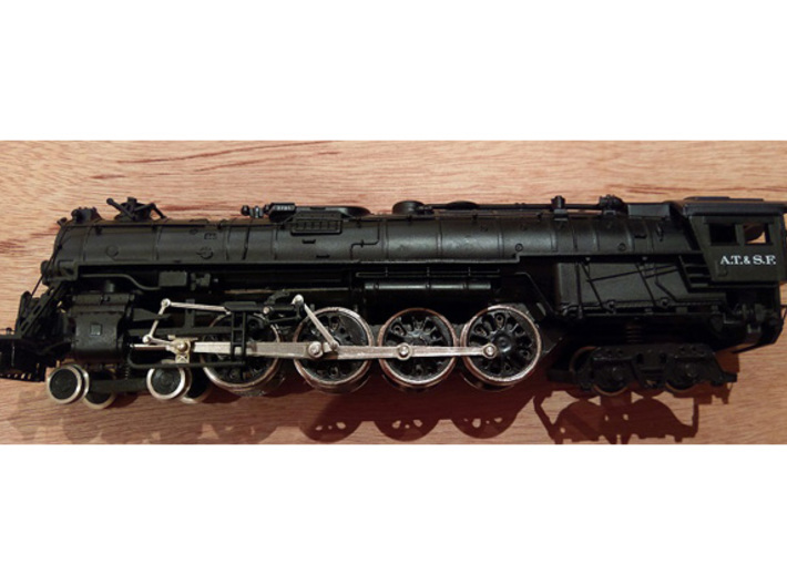Bachmann HO US 4-8-4 Replacement Axle Shafts 3d printed