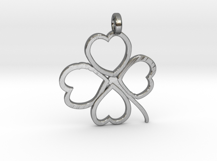 Four-leaf clover 3d printed