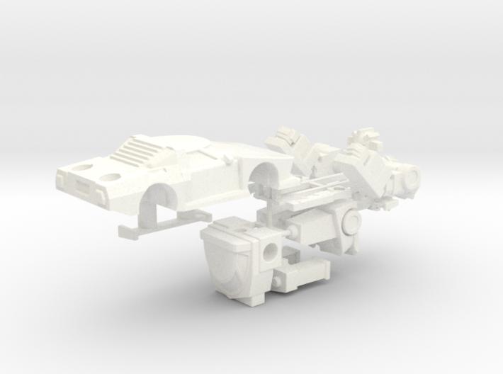 WST Wheeljack, non-transforming 3d printed