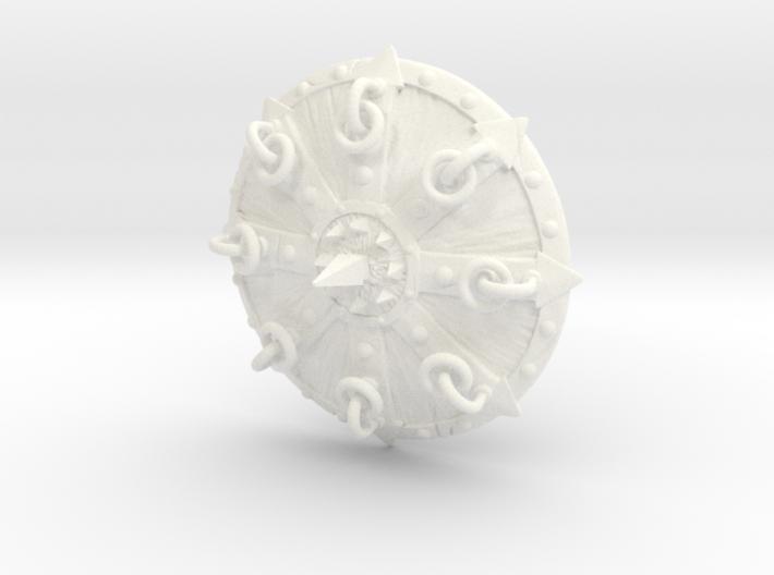 Shield-11-Targe-Chaos 6-7inch MOTU 3d printed