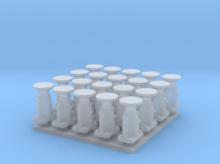 Puskin 20kpl, pyöreä (H0) 3d printed