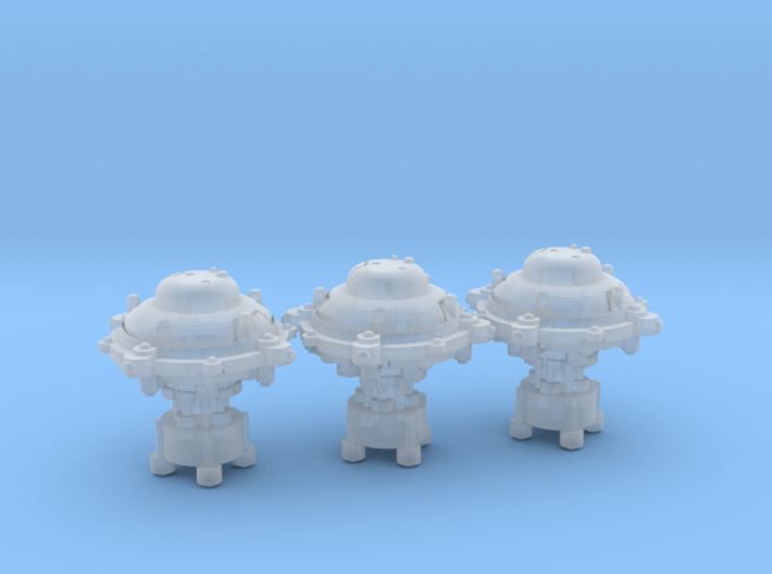 Orbital core modules (3) 3d printed