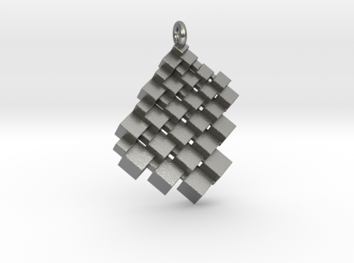 Squaring the Plane Pendant II 3d printed
