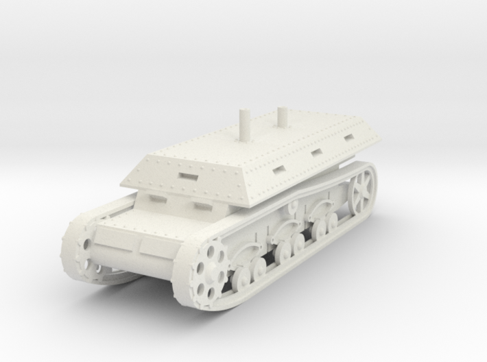 1/100 Self-Propelled War Wagon 3d printed
