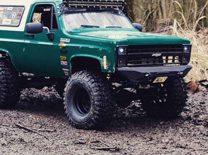 Chevy K30 M1008 Grill for RC4WD Blazer or Vaterra 3d printed