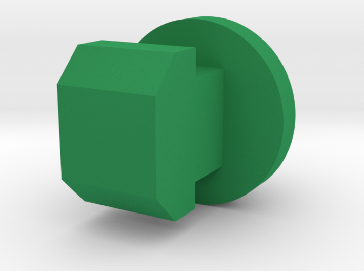 Wipac type Triconsul button green 3d printed