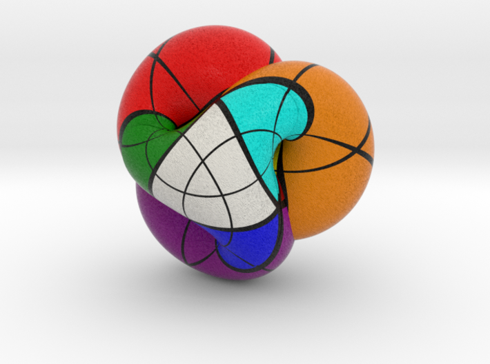 Boy's Surface Rubik 3d printed