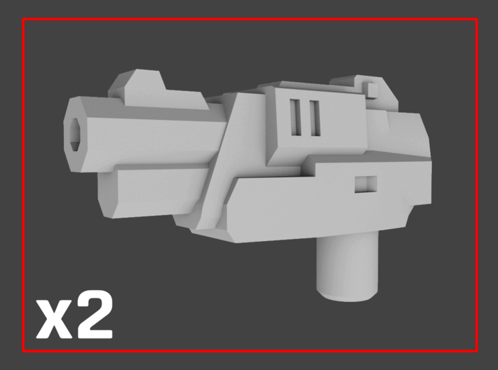 """""""Anvil"""" Transformers Weapons (5mm post) 3d printed"""
