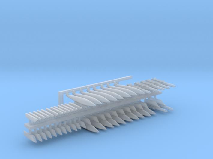 1:350 Scale A-6 Intruder Detail Set 3d printed