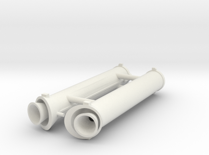 Ariane 3 PAP 7.35 boosters 3d printed