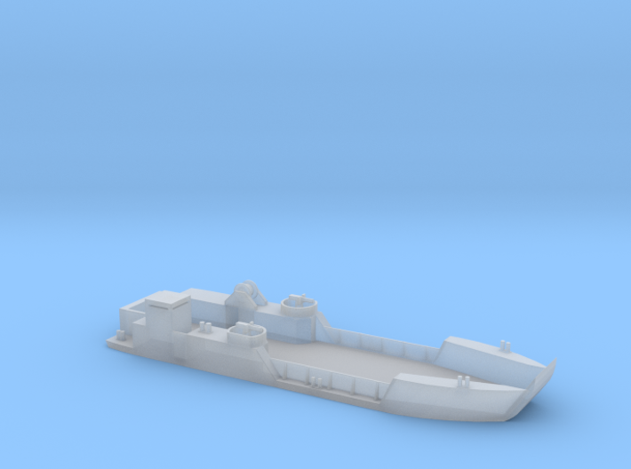 Vietnam River Boat LCT-6 1:285 3d printed