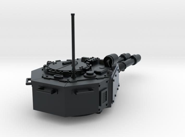 28mm Laser gun tank turret 3d printed