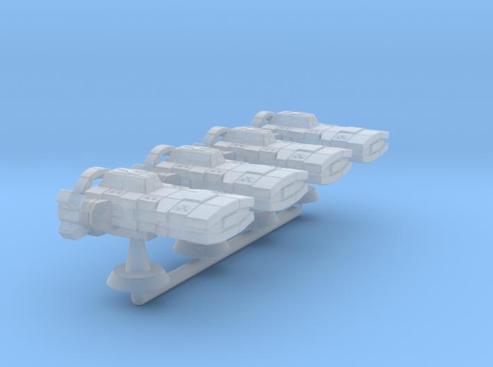 Theodosius Class Strike Cruiser -1:20000 3d printed