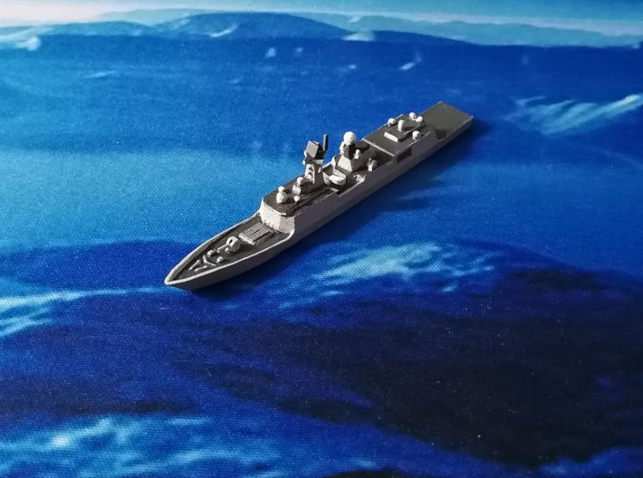 054A Frigate, 1/1800, HD Ver. 3d printed Painted Sample