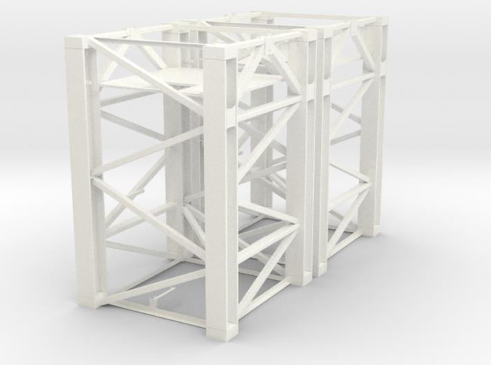 Baukran Turmstück 3.3m 2 Stück 3d printed