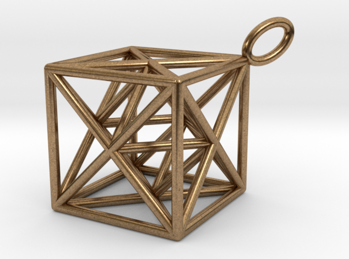 Metatron's Cube Hanger 3d printed
