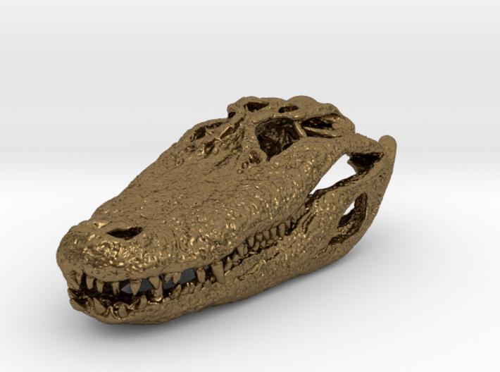 Alligator Skull pendant 3d printed