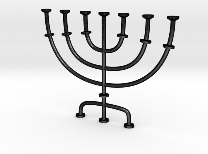 Menorah candlestick 1:12 scale model 3d printed