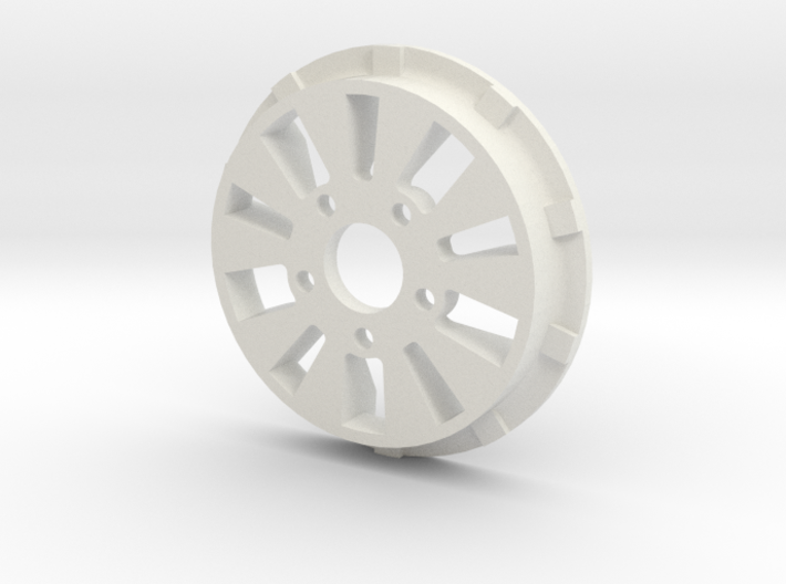 sawtooth beatlock wheels 2.0, part 1/3 front 3d printed