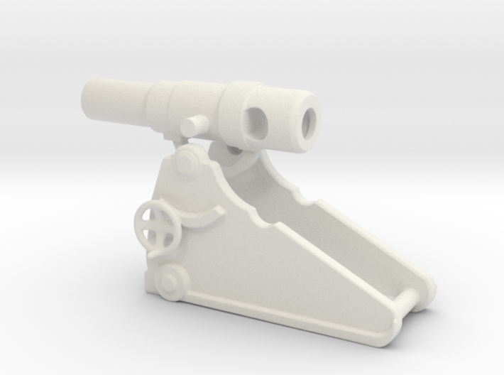 russian heavy 8 inch cannon m 1877 1/100 3d printed