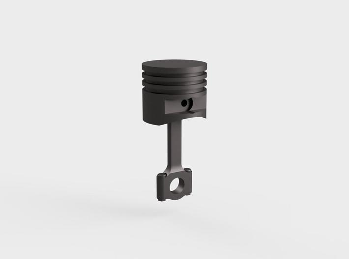 Piston#1(Flat Top)(Rod1)(Solid)(10/15/25mm) 3d printed