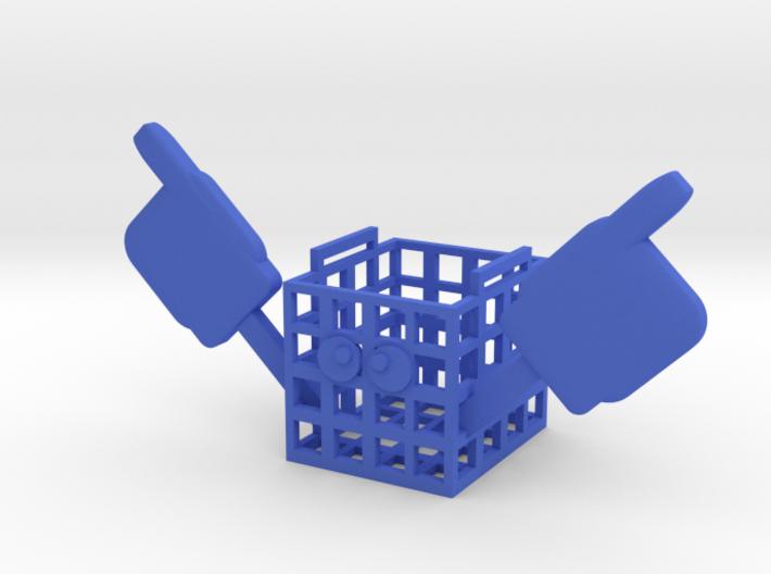 (Fnaf6)#1 crate 3d printed