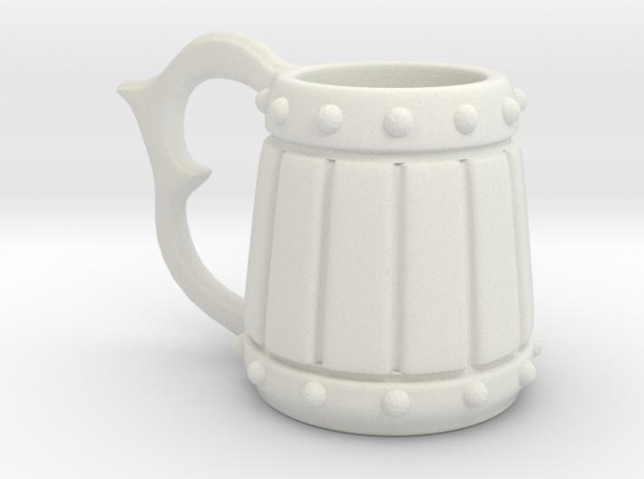 Mini Beer Tankard 3d printed