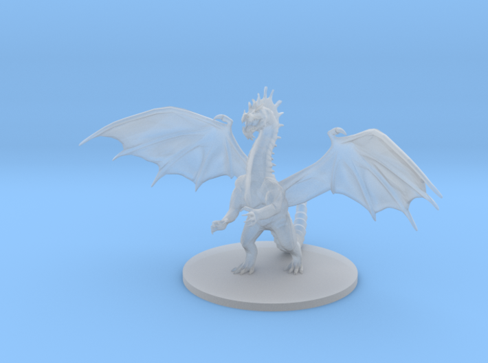 Young Green Dragon 3d printed