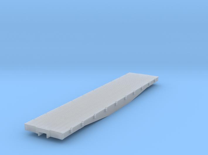 D&RGW 6500 Flat HOn3 3d printed