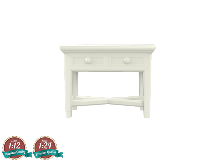 Miniature Console Table 2 Drawers - Dantone Home 3d printed Miniature Console Table 2 Drawers - Dantone Home