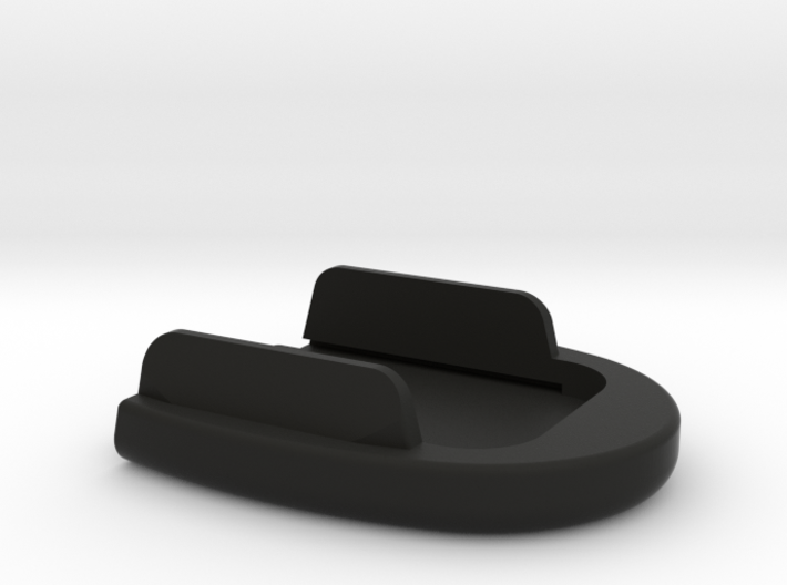 SIG P320 New Basepad w/ tapered tabs - Circle 3d printed