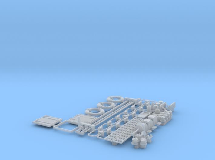 1/35 PT Boat Small Parts Set501 3d printed