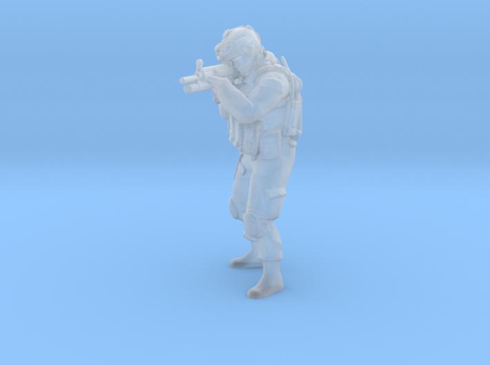 2 HO Modern Soldier (no base) 3d printed