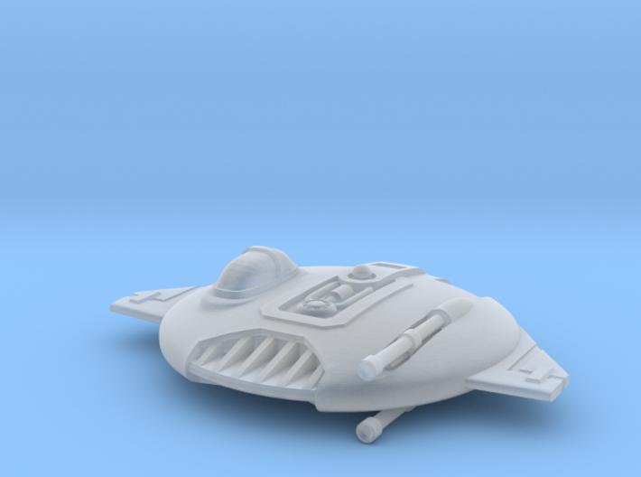 Centennial Hawk Fighter 3d printed