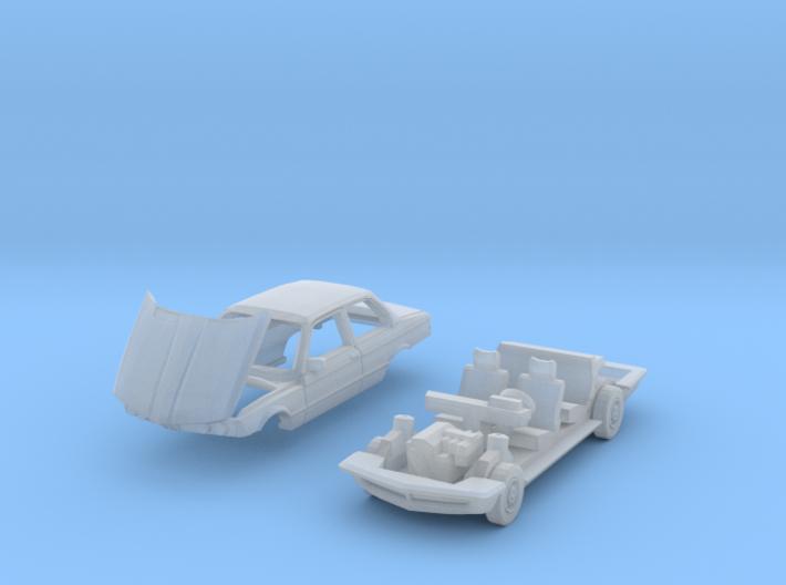 Car breakdown (TT 1:120) 3d printed