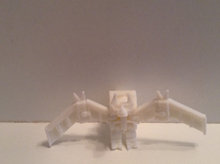 HeadRobot H-02 Thing-O-Wings 3d printed