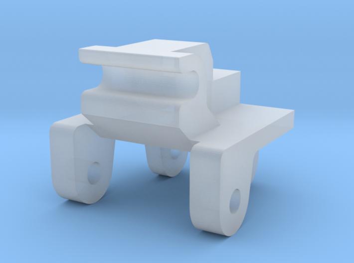 Schnellwechsler selbstentriegelnd für Herpa Bagger 3d printed