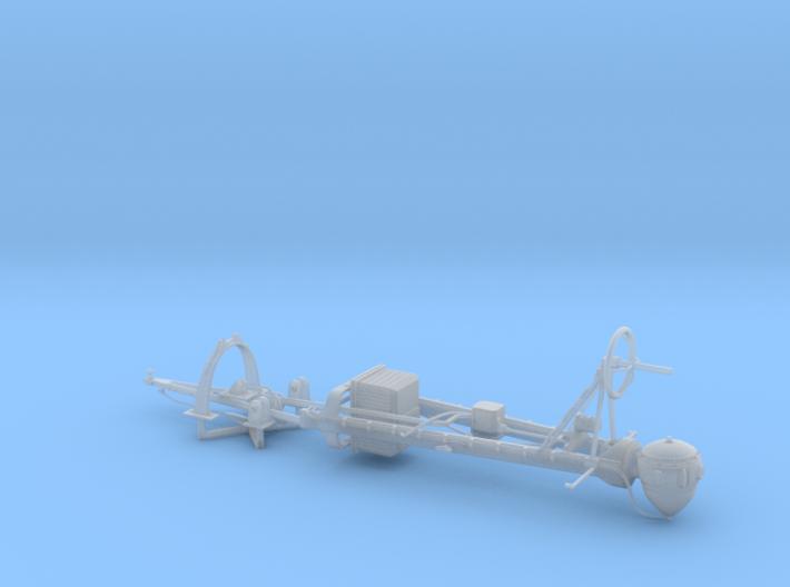 1/20 PT-631 SO-3 Radar Mast Set004 3d printed